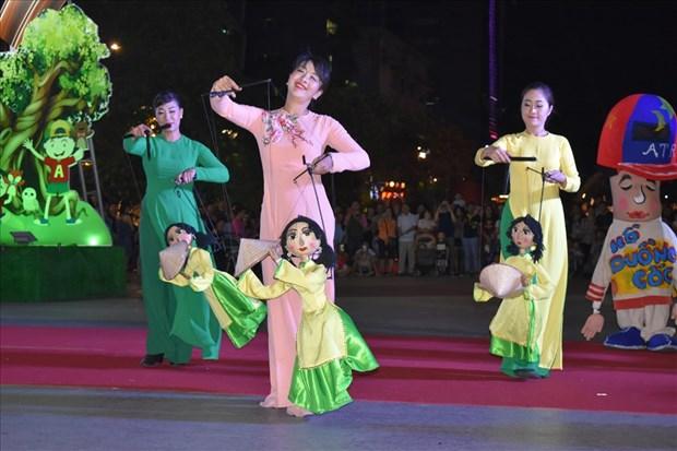 首次越南木偶戏节在胡志明市开幕 hinh anh 2