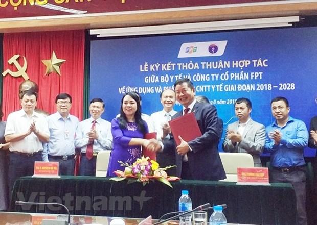 越南卫生部与FPT集团签署合作协议 努力建设智慧医疗系统 hinh anh 1