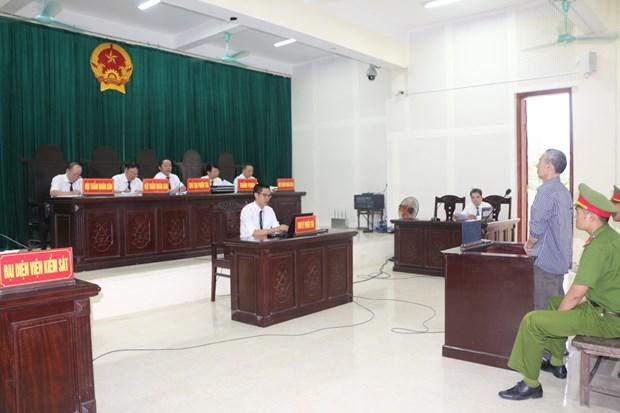 乂安省:黎廷亮涉嫌颠覆国家政权被判处有期徒刑20年 hinh anh 2