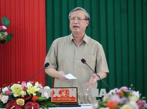 越南试点实施省级、县级党委和政府下设办事机构的领导人职务兼任制 hinh anh 1