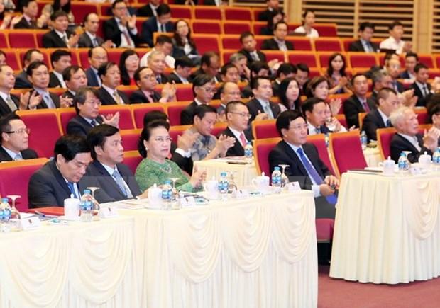 第30届外交会议:国会外交为提高越南在国际舞台上的地位做出了切实贡献 hinh anh 1