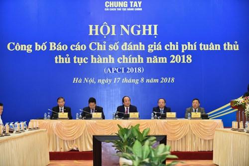 2018年行政手续办理费用评价指数报告正式发布 hinh anh 1