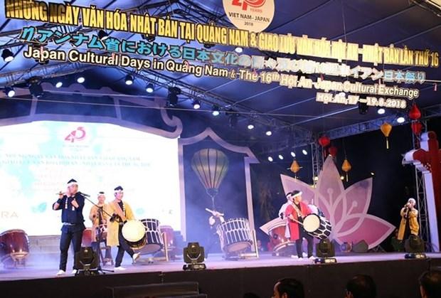 日本文化日活动在广南省拉开序幕 hinh anh 1