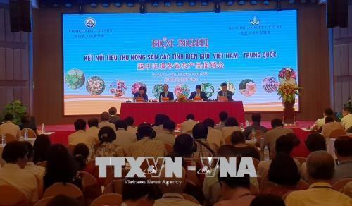 越中边境各省农产品促销会在谅山省举行 hinh anh 1