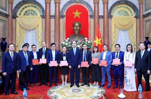 国家主席陈大光:发挥科技成果对经济社会发展的作用 hinh anh 2
