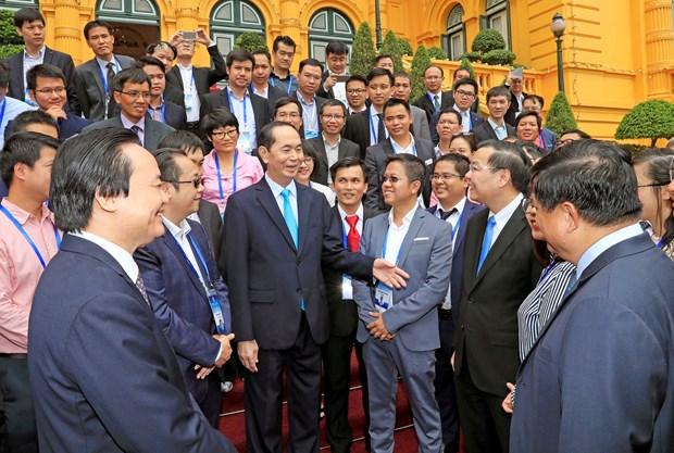 国家主席陈大光:发挥科技成果对经济社会发展的作用 hinh anh 1
