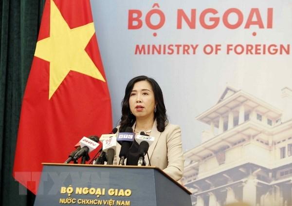 外交部发言人:越南对洪森被任命为柬埔寨王国政府首相表示祝贺 hinh anh 1