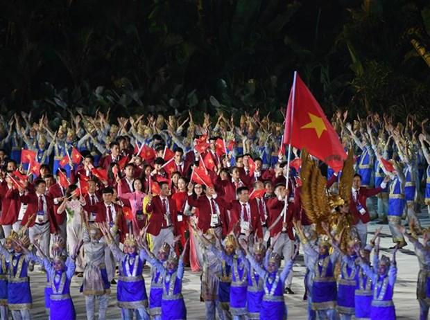 ASIAD 2018: 2018年雅加达亚运会正式开幕 越南代表队力争夺得3到5枚金牌 hinh anh 1