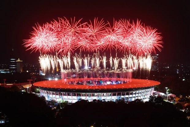 ASIAD 2018: 2018年雅加达亚运会正式开幕 越南代表队力争夺得3到5枚金牌 hinh anh 2