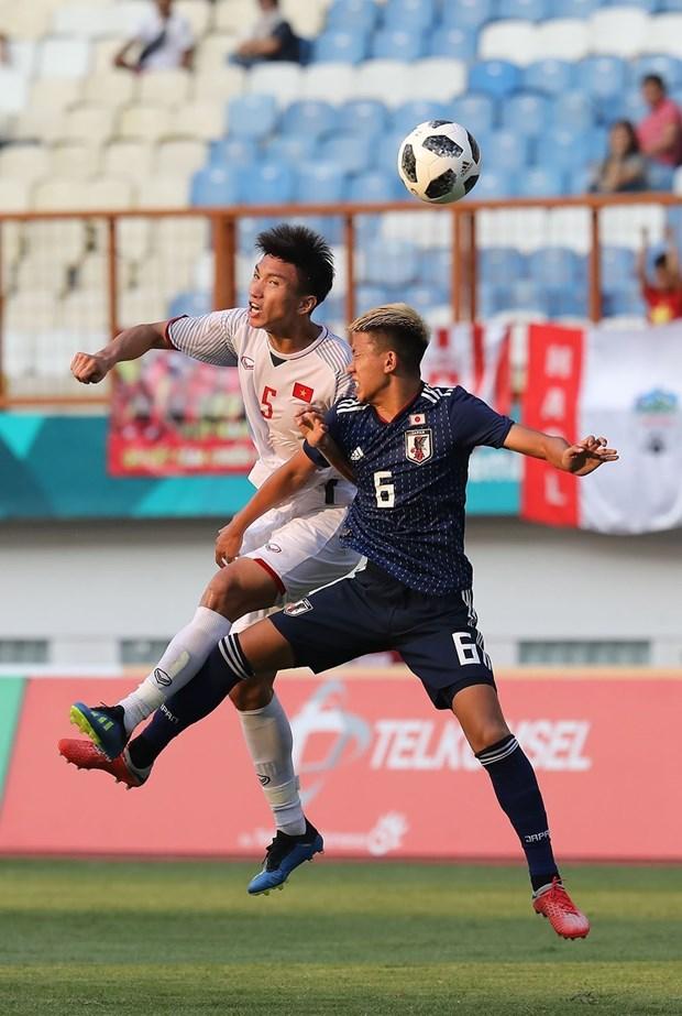ASIAD 2018: 越南队1:0击败了日本队 位居D组第一 hinh anh 2