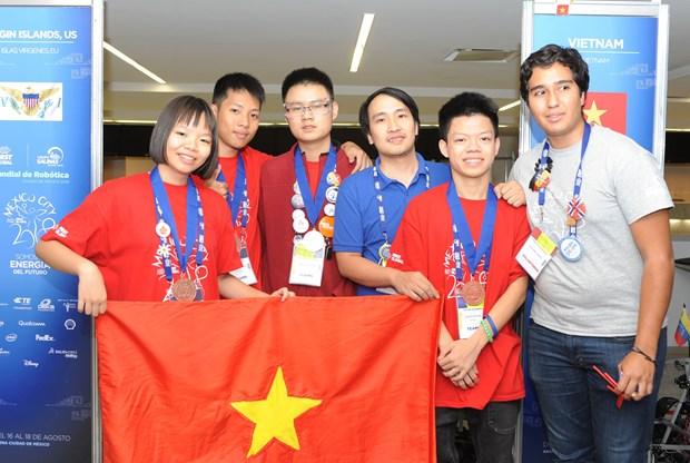 2018年FIRST全球挑战赛 越南队战绩辉煌 hinh anh 1