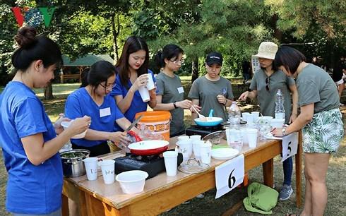 2018年泛欧越南青年大学生夏令营开营 hinh anh 2