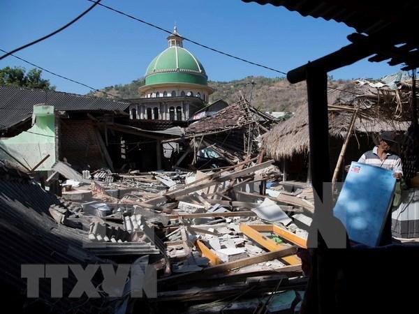 印尼龙目岛再次发生6.3级地震 hinh anh 1