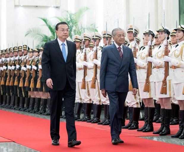 马来西亚总理马哈蒂尔访华欲促进中马关系发展 hinh anh 2