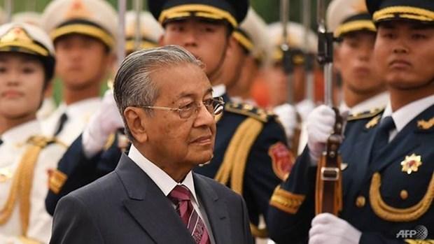 马来西亚总理马哈蒂尔访华欲促进中马关系发展 hinh anh 1