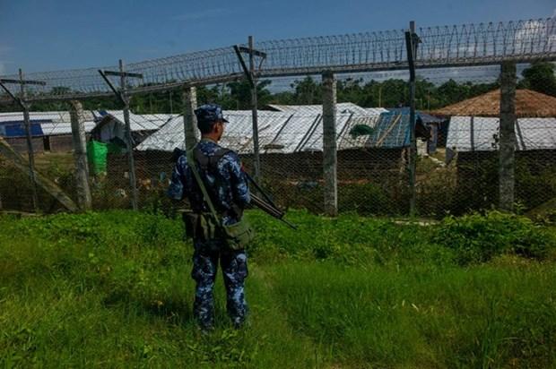 美国对缅甸军队实施新的制裁 hinh anh 1