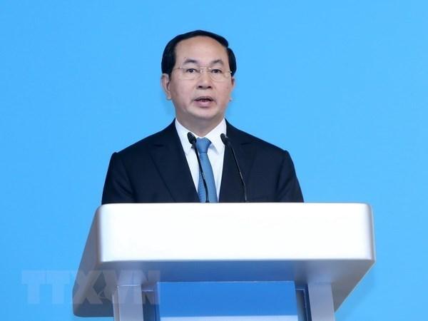 越南国家主席陈大光即将对埃塞俄比亚和埃及进行国事访问 hinh anh 1