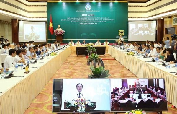 越南政府副总理王廷惠:成立合作社是强制性任务 hinh anh 1