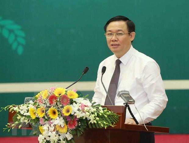 越南政府副总理王廷惠:成立合作社是强制性任务 hinh anh 3