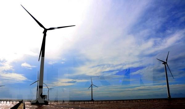 茶荣省风电站吸引投资3.37万亿越盾 hinh anh 1