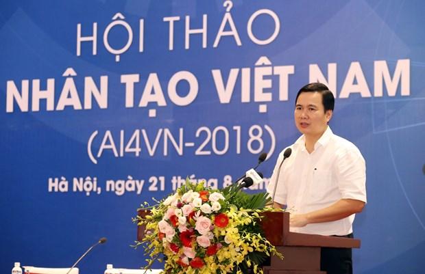 2018年越南人工智能(AI)研讨会在河内举行 hinh anh 1