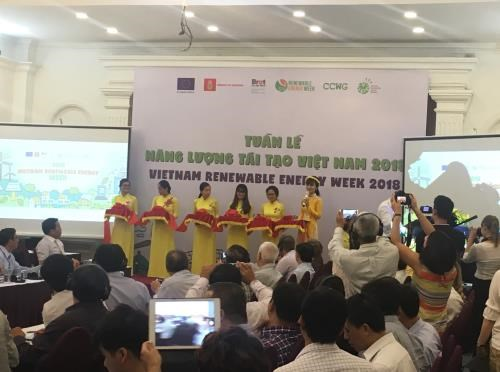 2018年越南可再生能源周正式开幕 hinh anh 1