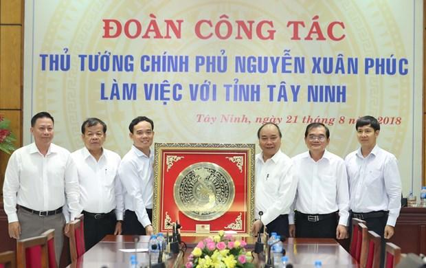 阮春福:西宁省应力争成为全国优质农产品加工中心 hinh anh 1