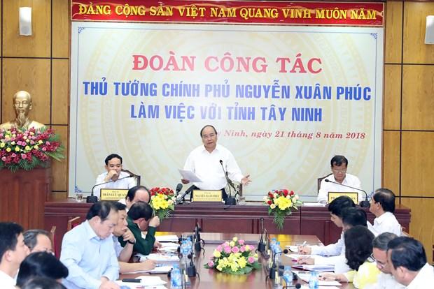 阮春福:西宁省应力争成为全国优质农产品加工中心 hinh anh 2