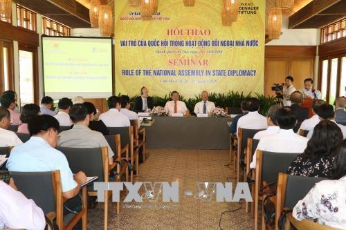 """""""议会外交在公共外交中的作用""""研讨会在芹苴市举行 hinh anh 1"""