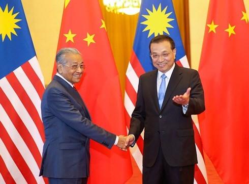 中国和马来西亚推动双方关系上升到新高度 hinh anh 1