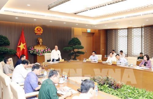 越南政府总理:须竭尽全力确保WEF-ASEAN取得全面成功 hinh anh 1