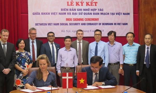 丹麦驻越大使馆协助越南保险加强能力建设 hinh anh 1