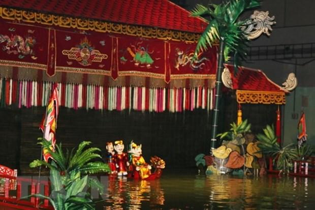 越南木偶艺术给旅居俄罗斯越南人侨胞留下深刻印象 hinh anh 1