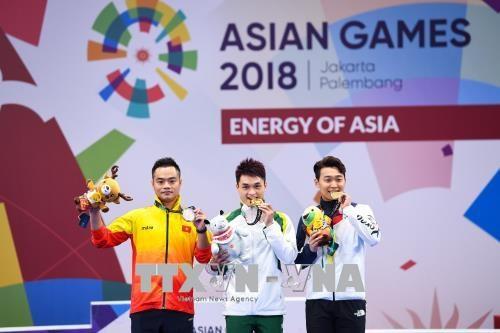 ASIAD 2018:越南再获两银一铜 hinh anh 1