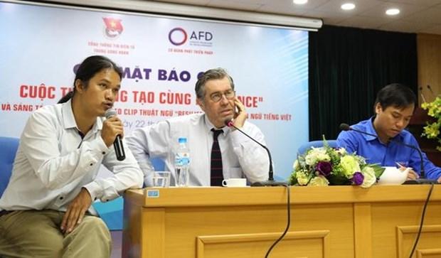 """Resilience"" 术语翻译成越南语的图表和视频片段创作竞赛开赛 hinh anh 1"