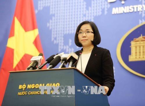 越南要求中国台湾立即停止在巴平岛上的实弹演习 hinh anh 1