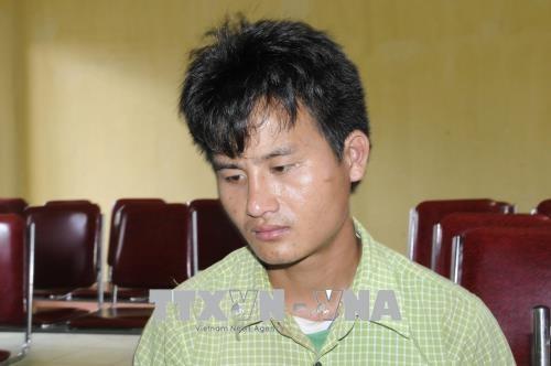 乂安省边防部队抓获一起涉嫌运输合成毒品的老挝犯罪嫌疑人 hinh anh 1