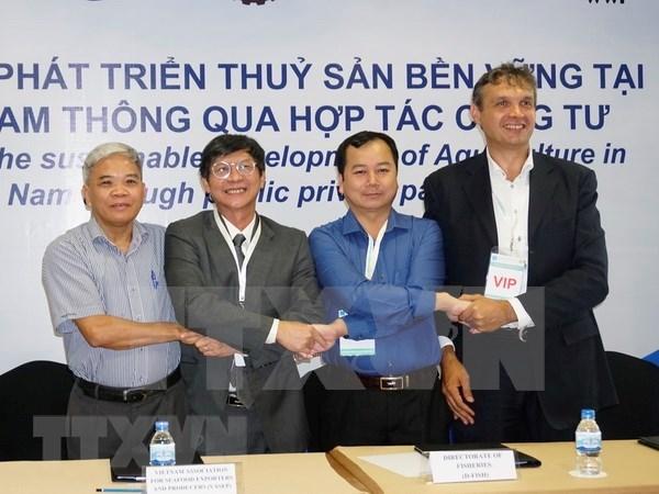 越南与荷兰携手推动九龙江平原水产业可持续发展 hinh anh 1