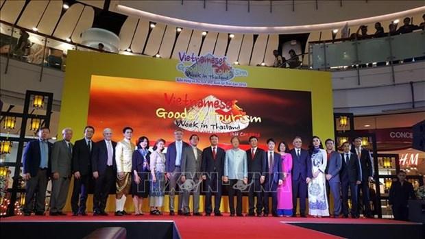 2018年越南商品与旅游周在泰国正式开幕 hinh anh 1