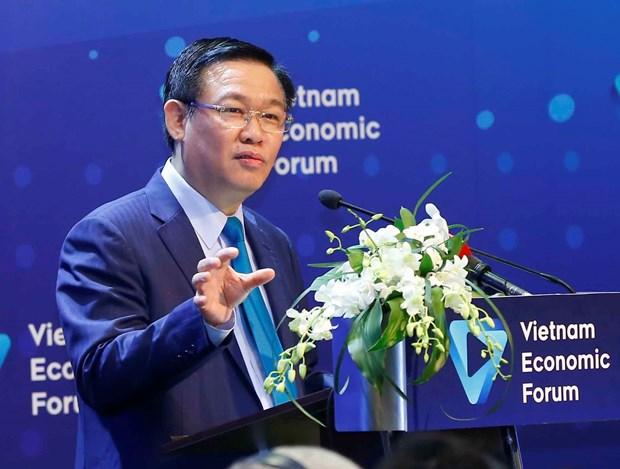 王廷惠副总理:力争在2020年前建设一个健康、稳定的证券市场 hinh anh 1