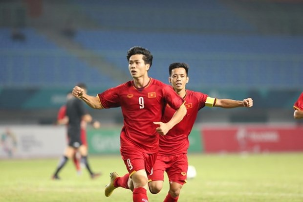 越南国奥队4连胜杀入亚运会8强 将迎战叙利亚队 hinh anh 1