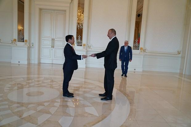 阿塞拜疆重视与越南的合作关系 hinh anh 1