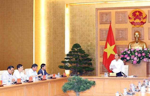 阮春福与总理经济顾问小组举行工作会议 hinh anh 1