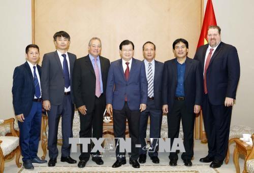 郑廷勇副总理:越南鼓励投资商参加电源发展项目 hinh anh 2