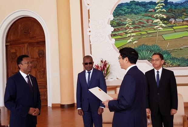 马达加斯加重视与越南的传统友好合作关系 hinh anh 1