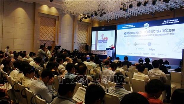 2018年全国麻醉复苏科学会议在庆和省召开 hinh anh 1