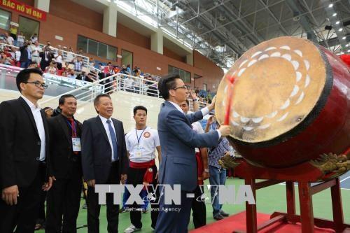 2018年第二次越南传统武术国际锦标赛正式开赛 hinh anh 1