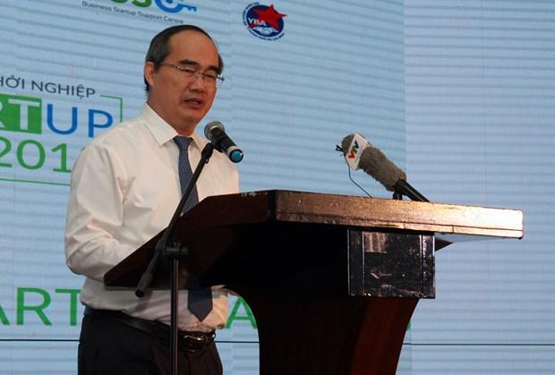 胡志明市市委书记阮善仁: 越南年轻一代须锐意创新 hinh anh 2