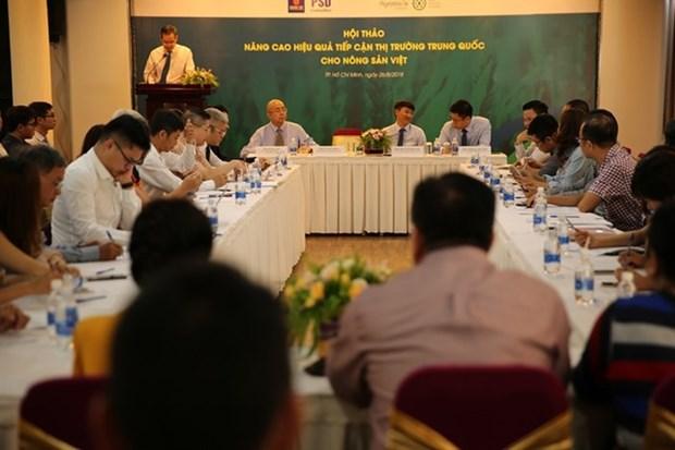 提升越南农产品在中国市场的知名度 hinh anh 1