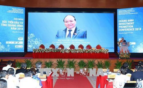 越南政府总理阮春福:投资商应加速兑现对广平省投资的承诺 hinh anh 1